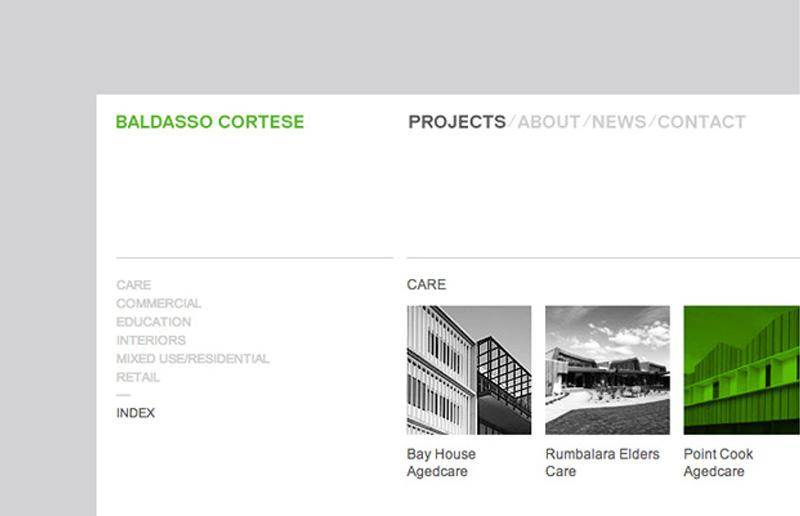 Baldasso Cortese Website